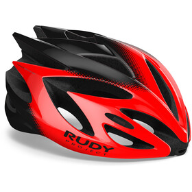 Rudy Project Rush Helmet Red/Black Shiny